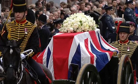 What I saw at Margaret Thatcher's magnificent funeral