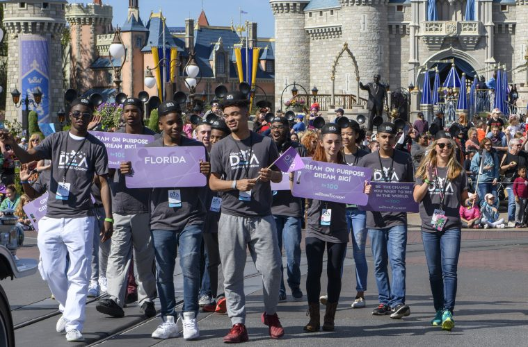 2018 DISNEY DREAMERS ACADEMY INSPIRES DREAMERS TO BE 100.