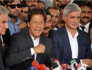 I am the only leader to bring my assets to country: Imran.