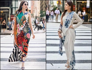 Mahira Khan or Ayesha Omar: Battle of the unconventional sari