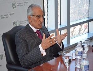 Media Interaction of Mr. Tariq Fatemi, Special Assistant to Prime Minister/ Minister of State for Foreign Affairs with Mainstream US Print & Electronic Media held at Pakistan Embassy, Washington DC