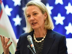 Alice Wells in Pakistan ahead of 'imminent' US-Taliban peace deal