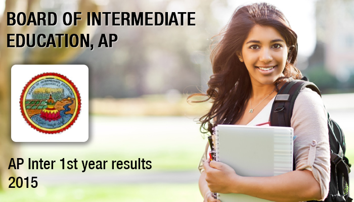 AP Inter First 1st year junior results 2015 to be announced toda