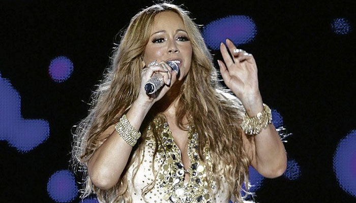 Mariah Carey doing well after flu