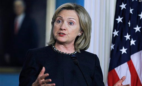 Clinton arrives Laos on landmark visit