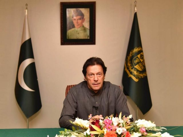 PM Imran in solidarity with the Kashmiri people on Martyrs\' Day
