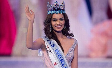 Not upset with Tharoor's tongue-in-cheek remark: Miss World Manushi Chhillar.