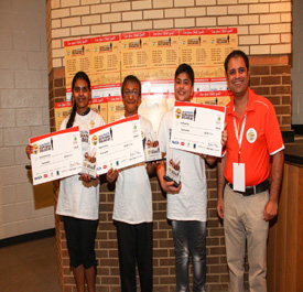 South Asian Spelling Bee Atlanta,Charlotte winners annouced