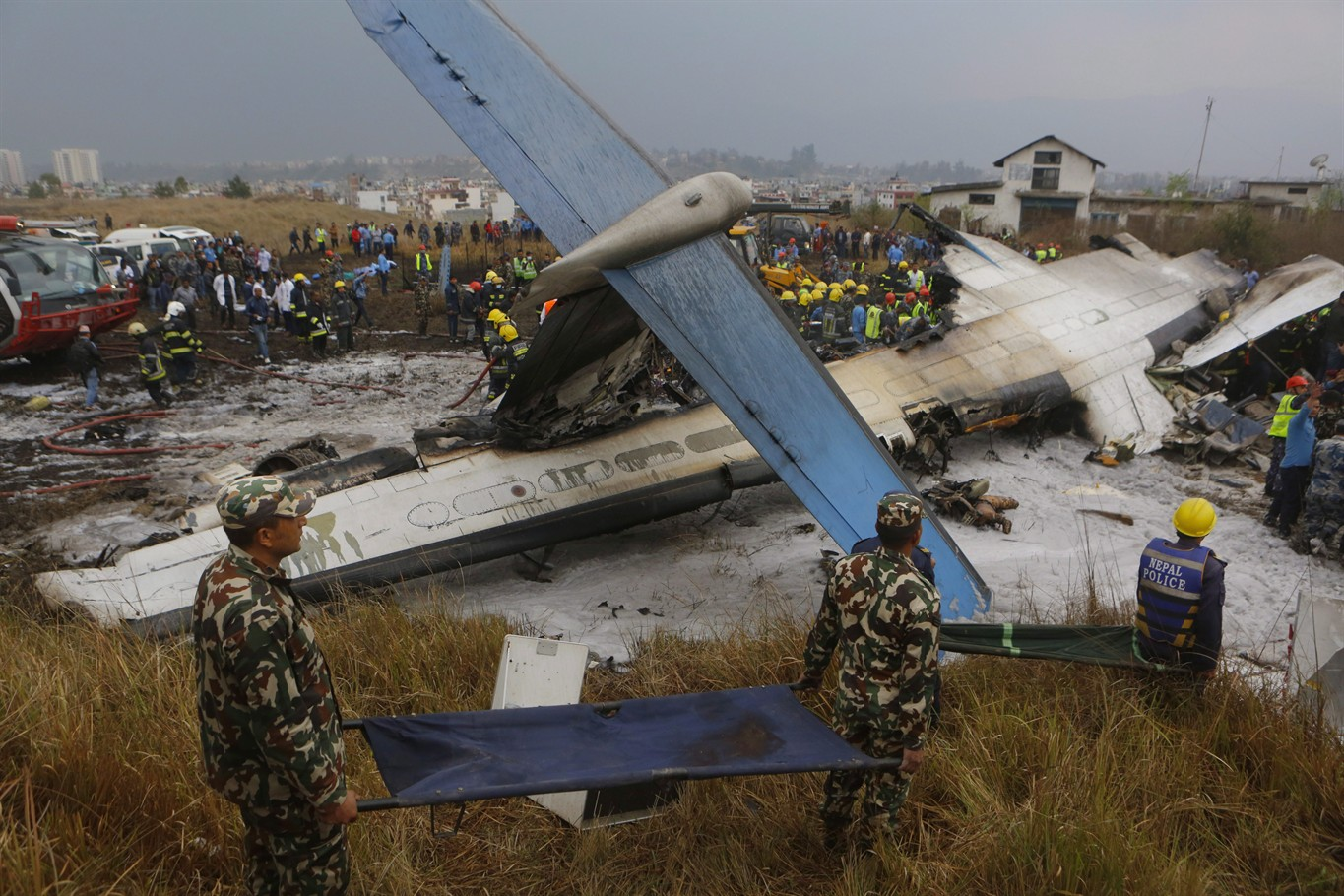 Bombardier sending officials to Nepal to help with plane crash investigation.