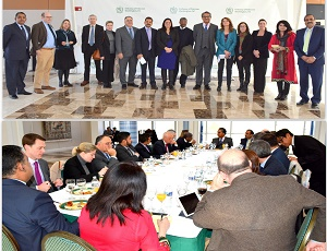 The Embassy of Pakistan hosted a New Year Luncheon for Washington based correspondents of US print and electronic media