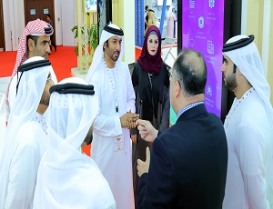 Dubai Land Department's platform welcomes a large number of investors on the second day of the Dubai International Government Achievement Exhibition