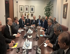 Finance Minister Senator Mohammad Ishaq Dar met with Deputy Managing Director of International Monetary Fund (IMF) Mr Mitsuhiro Furusawa and briefed him about Article IV consultations held in Dubai recently.