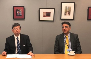 Mr Asad Umar, Finance Minister had a second day of meetings during the IMF/WB spring meetings in Washington DC