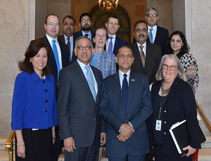 US Pakistan Business Council (USPBC) hosted a Luncheon Reception in honour of the Pakistan Ambassador to the US Aizaz Chaudhry