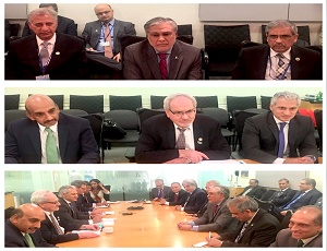 Pakistan delegation headed by Finance Minister Ishad Dar met with Executive Vice President (EVP) & CEO of International Finance Corporation (IFC) Mr. Philippe Le Houerou at the World Bank.