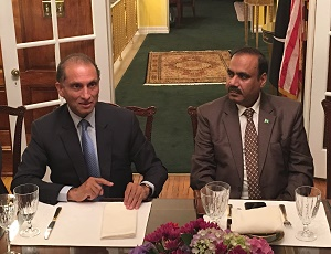 Ambassador Aizaz Chaudhry hosts Iftar-Dinner for DC Based Pakistani Journalists