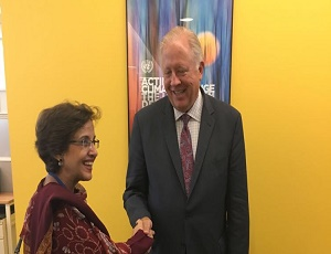 Foreign Secretary Tehmina Janjua meets US Under Secretary of State.