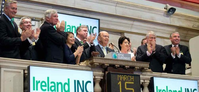 Ireland INC Index – recognising Irish companies investing in the US.