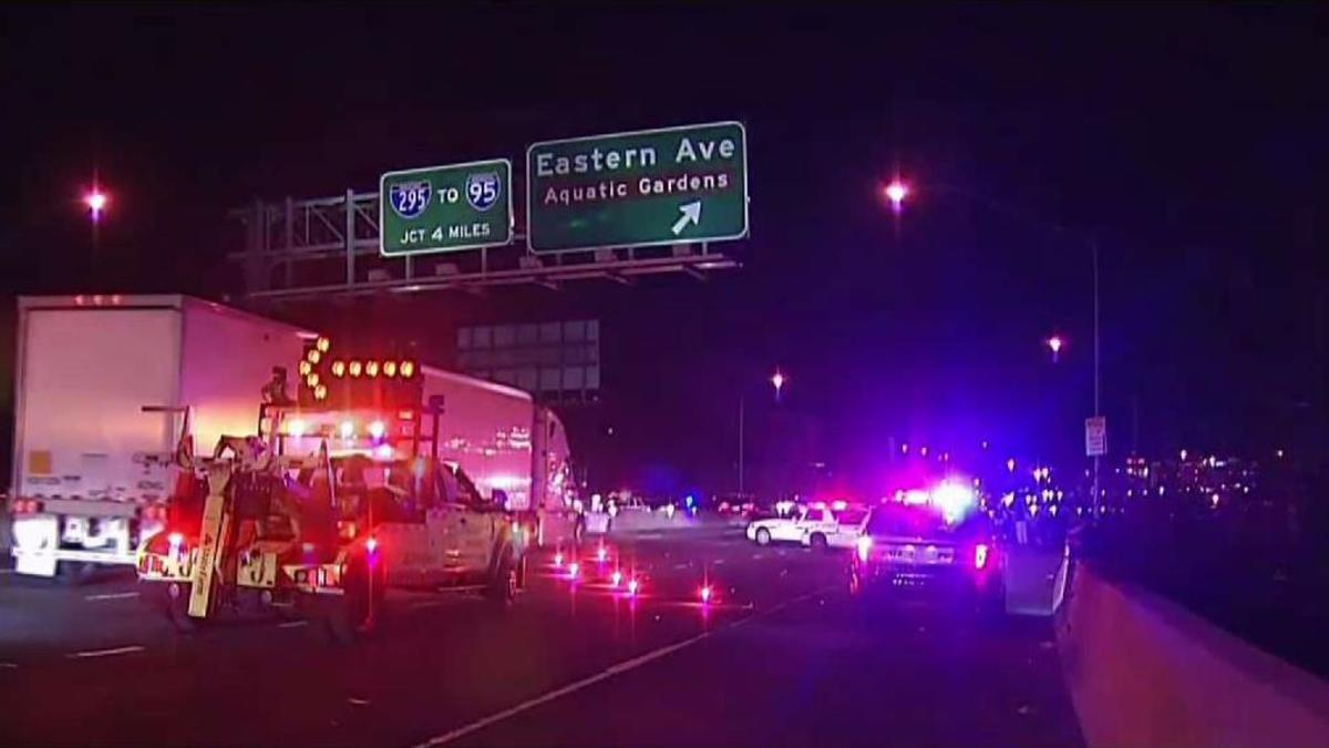Man Dies After Being Found Shot Along I-295 in Bladensburg.