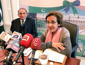Official visit of the Foreign Secretary Ms. Tehmina Janjua to Washington DC