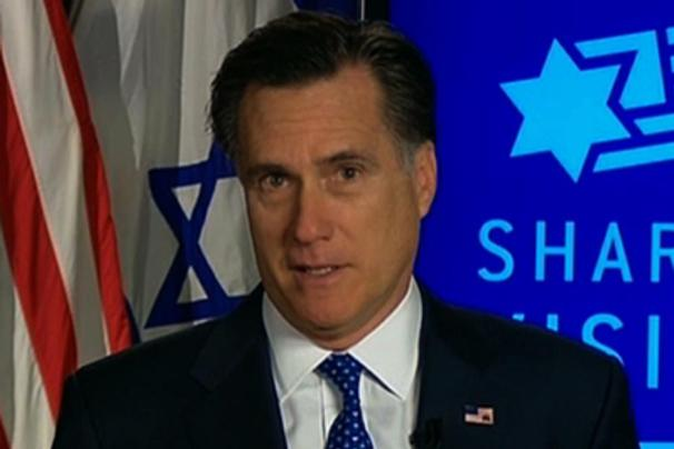 Romney to talk war on Iran during Israel visit