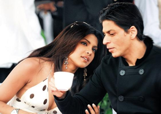 Did Shah Rukh Khan taunt Priyanka on Twitter?