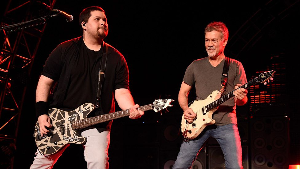 Eddie Van Halen\'s son criticises sale of his father\'s guitars