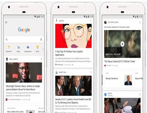 Google to add \'news feed\' to website and app