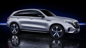 Mercedes takes on Tesla with fully-electric SUV