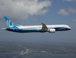 Boeing's new 787-10 Dreamliner completes its maiden flight