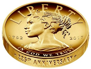 Lady Liberty to be black woman on new US $100 coin