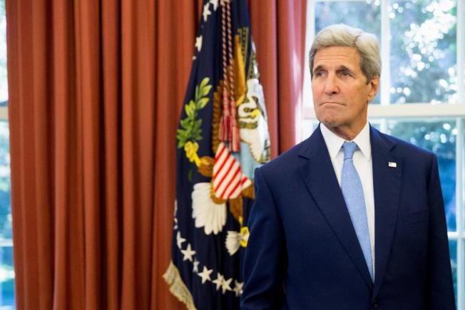 Russia military backing for Syria counterproductive: Kerry