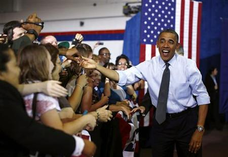 Obama\'s lead over Romney grows