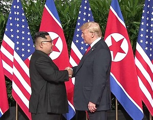 Trump Kim summit: US president hails deal after historic talks