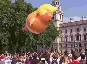 \'Baby Trump\' balloon takes first flight in New Jersey, now available for \'adoption\'