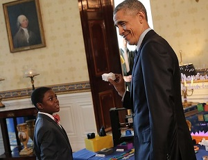 Obama launches a kid science advisors' campaign