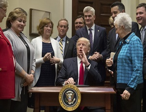 Trump Signs Executive Order Reviewing Federal Role in Education