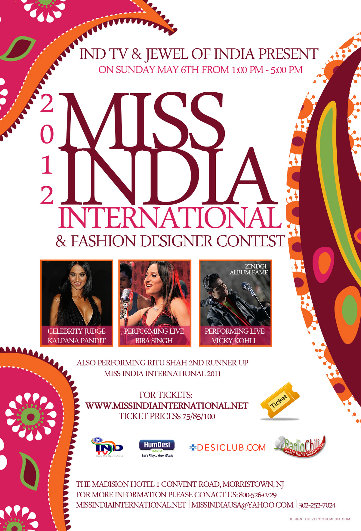 Miss India International 2012