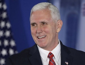 Pence delivers his own jabs about email controversy