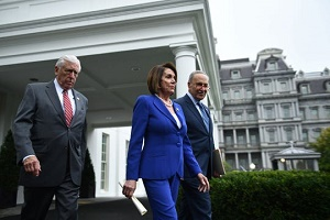 Democratic leaders walk out of meeting with Donald Trump on Syria, claim president had \'meltdown\'