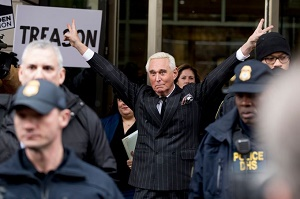 Roger Stone denies using Instagram post to threaten federal judge presiding over his case