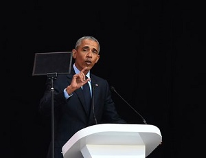 Obama warns of 'politics of fear and resentment and retrenchment,' never mentions Trump by name
