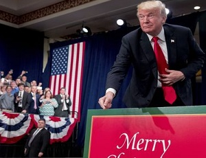 TV ad thanks Trump for letting us say 'merry Christmas' again.