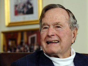 Trumps to attend George H.W. Bush funeral; Wednesday will be day of mourning
