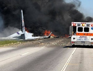 Air National Guard cargo plane crashes in Georgia, leaving nine-member crew dead