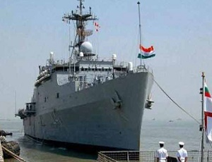 Naval ship INS Chennai dedicated to city