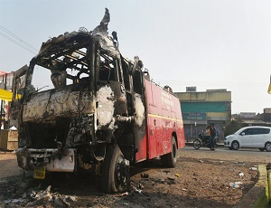 Bhima Koregaon: Buses stoned, schools, shops shut during Pune bandh.