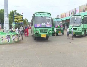 Tamil Nadu bus strike enters eighth day.