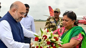 Vasundhara Raje will remain BJP's CM candidate for Rajasthan Assembly elections 2018: Amit Shah