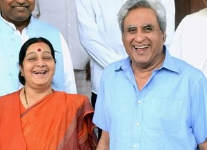Sushma Swaraj's husband on her decision to not contest 2019 elections